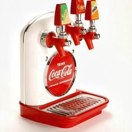 Coca-Cola - German Coke Dispenser, c. 1960.