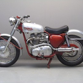 "Tribsa - 750 cc 2 cyl ohv  1967 ""Triumph"" and ""BSA"""
