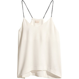 H&M - H&M Top with thin shoulder straps