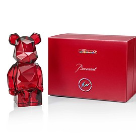 Baccarat, MEDICOM TOY, fragment design - BE@RBRICK fragmentdesign POLYGON RED