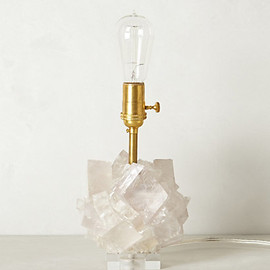 Kathryn McCoy - Calcite Crystal Lamp Base