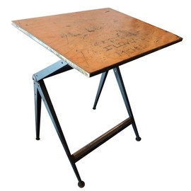 Wim Rietveld Friso Kramer - Wim Rietveld for Friso Kramer Drafting Desk