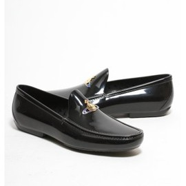Vivienne Westwood - Multi Orb Plastic Loafer in Black