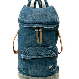 White Mountaineering×PORTER - 12SS USED DENIM RUCKSACK