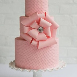 Amazing Tiered Pink Cake with Large Bow