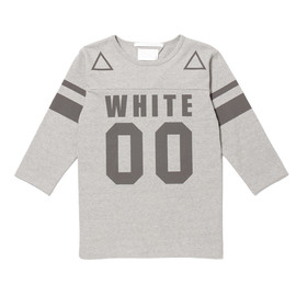 White Mountaineering - WM FOOTBALL T-SHIRT