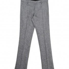 DRIES VAN NOTEN - Tweed trouser