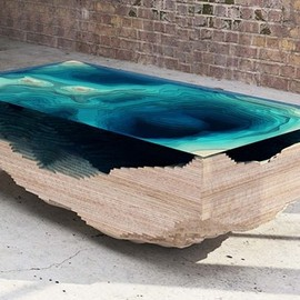 Section of the Ocean table