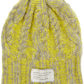 Marc by Marc Jacobs - Cable-knit wool-blend beanie