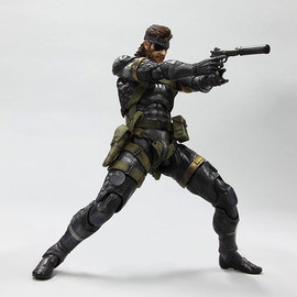 SQUARE ENIX - PLAYARTS改 SNAKE Sneaking Suit Ver. (ノンスケールPVC塗装済み完成品) - 「METAL GEAR SOLID PEACE WALKER」