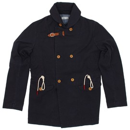 folk - overcoat navy FOLK OVERCOAT GOODSTEAD | 25% SALE + 15% VOUCHER
