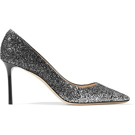 Jimmy Choo - Romy dégradé glittered leather pumps