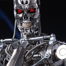 Hot Toys - The Terminator® T 800 Endoskelton 1/4th Scale Model Replica