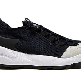 Nike - AIR FOOTSCAPE HF TZ FRAGMENT TIER 0 - Dark Obsidian/Neutral Grey-Black -