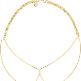 MARC BY MARC JACOBS - Gold-tone collar necklace