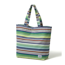 "HEAD PORTER - ""VISTA"" SHOPPING BAG (L) GREY"