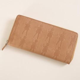 mintdesigns - LEATHER ZIP WALLET