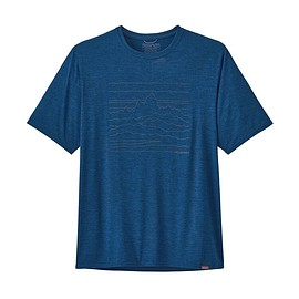 patagonia - M's Capilene® Cool Daily Graphic Shirt, Up High Endurance: Superior Blue X-Dye (UESX)
