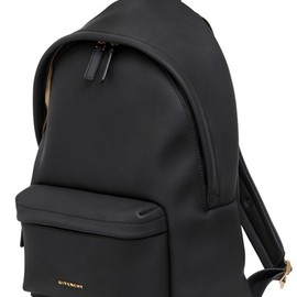 GIVENCHY - RUBBER EFFECT BACKPACK WITH STAR STUDS