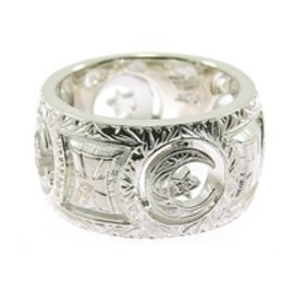 Loree Rodkin - Loree Rodkin engraved wide band