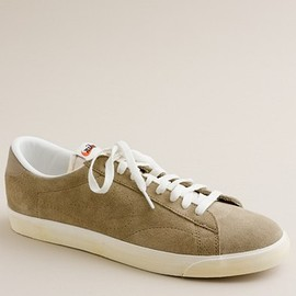 NikeR for J.Crew - Vintage Collection suede Tennis Classic AC sneakers