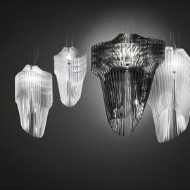 zaha hadid - avia & aria lamp for slamp