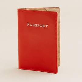 J.Crew - Patent passport holder