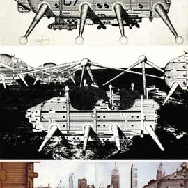 ARCHIGRAM - WALKING CITY