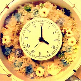 kou flower - wedding head dress * Memory clock