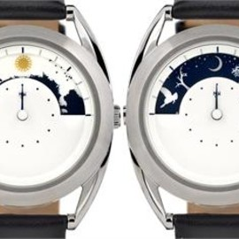 Mr Jones Watches - Sun and Moon 24 Hour Day & Night Revolver
