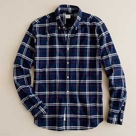 J.CREW - Oxford shirt in Glendon plaid