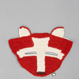 Oeuf - Baby Alpaca Fox Mask