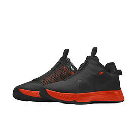 NIKE, Nike By You - PG 4 By You - Black/Team Orange/Black