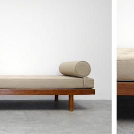 CHARLOTTE PERRIAND - Single bed, 1956-59 by Charlotte Perriand