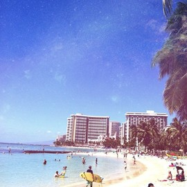 Hawaii - waikiki beach
