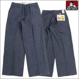 Ben Davis - THE GORILLA CUT WORK PANTS(INDIGO DENIM)