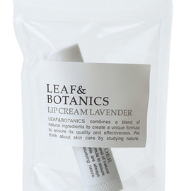 LEAF&BOTANICS - LIP CREAM LEMONGRASS