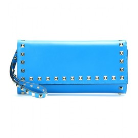 VALENTINO - ROCKSTUD LEATHER WALLET