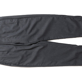 ENGINEERED GARMENTS - Andover Pant-Worsted Wool Gabardine-Charcoal