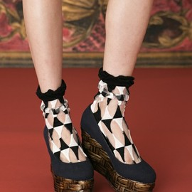 mother - PIERROT SOX black