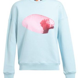 MSGM - Unisex Soap Printed Cotton Sweatshirt