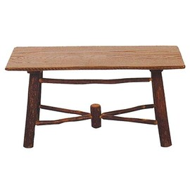Rustic Hickory - Camp Side Coffee Table
