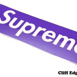 SUPREME - SUPREME  Box Logo Sticker[ボックスロゴステッカー]  PURPLE 290-000699-019+【新品】