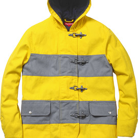 Supreme - Hooded Firemans Coat