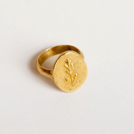 PETER HOFMEISTER - OAK LEAVES RING