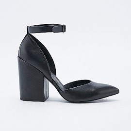Out From Under Karmen - Pointed Heels in Black