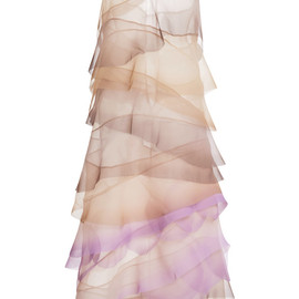 MARC JACOBS - Crinkle Organza V-Neck Dress