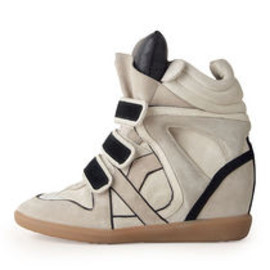 Isabel Marant -  Willow High-Top Sneaker