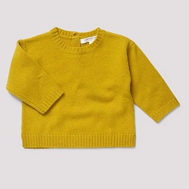 Caramel Baby&Child - Penglais Baby Jumper, Mustard Seed