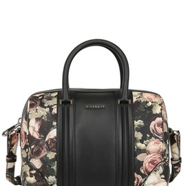 GIVENCHY - MEDIUM LUCREZIA ROSES PRINT LEATHER BAG